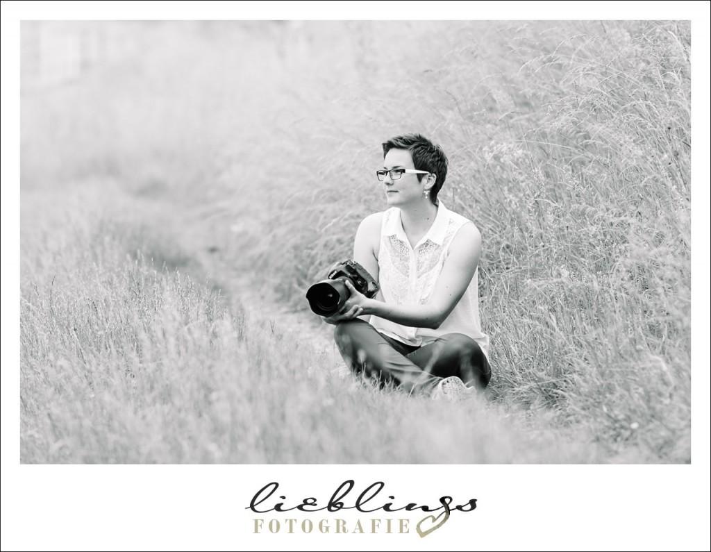 Das bin ich, Steffi Liebl, und ich bin Fotografin